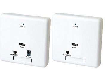 Globalmediapro SHE HW02 Wall Plate HDMI and IR Repeater CAT5 Extender (Transmitter and Receiver)