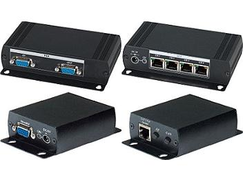 Globalmediapro SHE VE05 CAT5 VGA Output Distributor (Transmitter and Receiver)