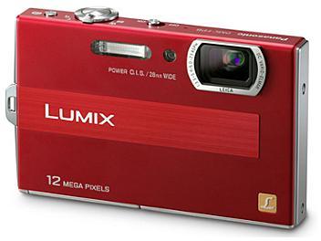 Panasonic Lumix DMC-FP8 Digital Camera - Red