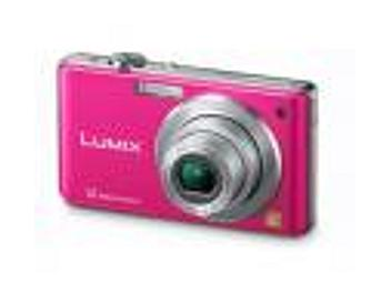 Panasonic Lumix DMC-FS12 Digital Camera - Pink