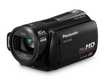 Panasonic HDC-SD20 HD Camcorder PAL - Black