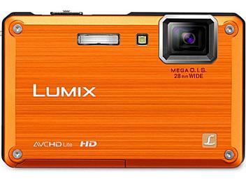 Panasonic Lumix DMC-TS1 Digital Camera - Orange