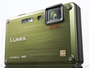 Panasonic Lumix DMC-TS1 Digital Camera - Green