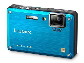 Panasonic Lumix DMC-TS1 Digital Camera - Blue