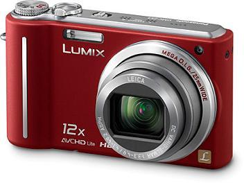 Panasonic Lumix DMC-ZS3 Digital Camera - Red
