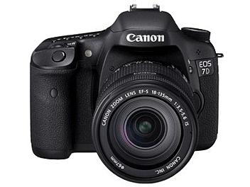 Canon EOS-7D DSLR Camera Kit with Canon EF-S 18-135mm Lens