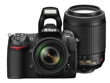 Nikon D300s DSLR Camera Kit with Nikon 18-55mm VR Lens and Nikon 55-200mm VR Lens