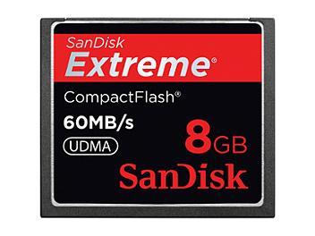 Sandisk 8GB Extreme CompactFlash Card 60MB/s (pack 15 pcs)
