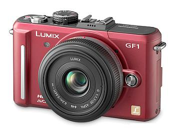 Panasonic Lumix DMC-GF1 Camera Body PAL - Red