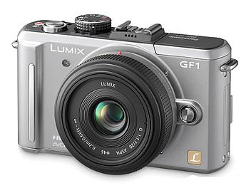 Panasonic Lumix DMC-GF1 Camera Body PAL - Silver
