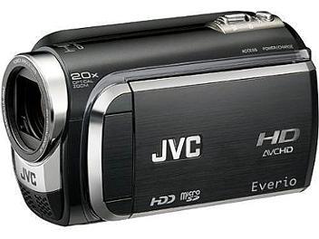 JVC Everio GZ-HD300 HD Camcorder PAL - Black