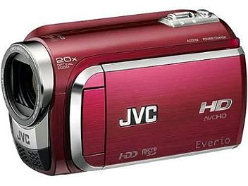 JVC Everio GZ-HD300 HD Camcorder PAL - Red