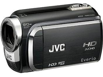 JVC Everio GZ-HD320 HD Camcorder PAL - Black