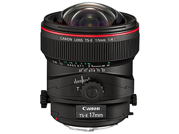 Canon TS-E 17mm F4L Tilt-Shift Lens