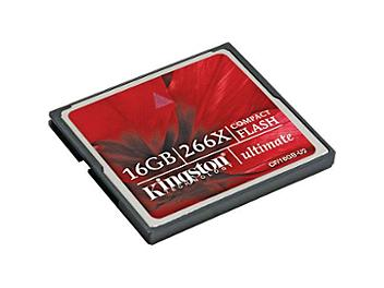 Kingston 16GB CompactFlash Ultimate 266x Memory Card (pack 2 pcs)