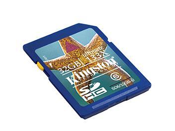 Kingston 32GB Class-6 SDHC Memory Card - 20MB/s (pack 5 pcs)