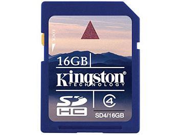 Kingston 16GB Class-4 SDHC Memory Card (pack 2 pcs)