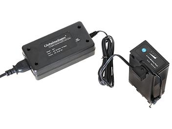 Globalmediapro SC1 1-channel Mini Charger + 2 x DCU95 Battery 95Wh with D-Tap