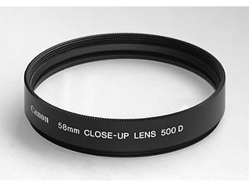 Canon 58mm 500D Close-up Lens