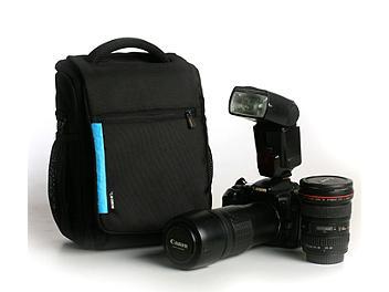 Winer DL-9 Shoulder Camera Bag - Black/Blue