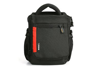 Winer DL-1 Shoulder Camera Bag - Black/Red