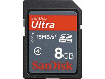 SanDisk 8GB Ultra Class-4 SDHC Memory Card (pack 50 pcs)
