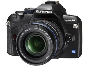 Olympus E-450 DSLR Camera Kit with Olympus 14-42mm Lens