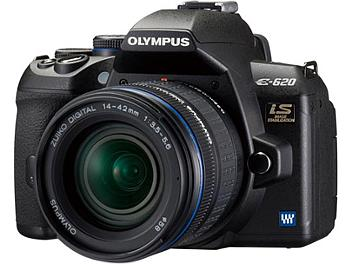 Olympus E-620 DSLR Camera Kit with Olympus 14-42mm Lens and Olympus 40-150mm Lens