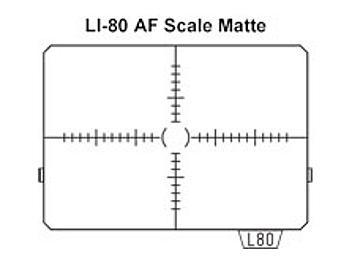 Pentax LI-80 AF Scale Matte Focusing Screen