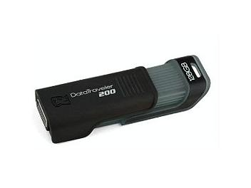 Kingston 128GB DataTraveler 200 USB Flash Memory (pack 3 pcs)