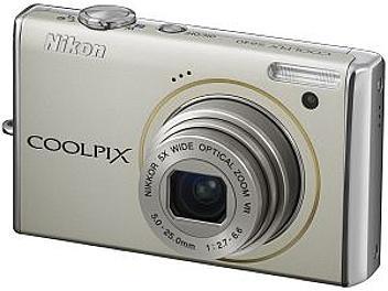 Nikon Coolpix S640 Digital Camera - Silver