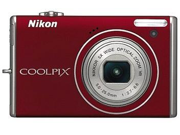 Nikon Coolpix S640 Digital Camera - Red
