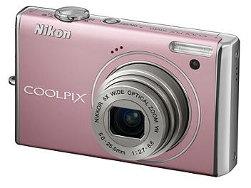 Nikon Coolpix S640 Digital Camera - Pink
