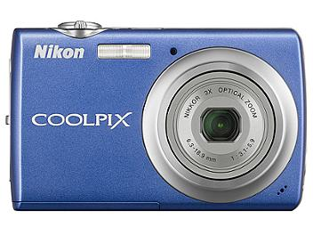 Nikon Coolpix S220 Compact Digital Camera - Blue