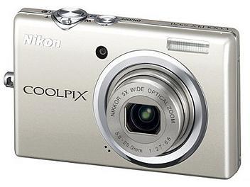 Nikon Coolpix S570 Digital Camera - Silver