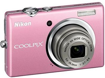 Nikon Coolpix S570 Digital Camera - Pink
