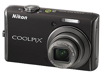 Nikon Coolpix S620 Digital Camera - Black