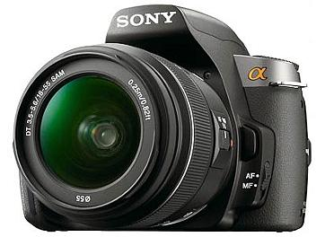 Sony Alpha DSLR-A380 DSLR Camera Kit with Sony 18-55mm Lens and Sony 55-200mm Lens