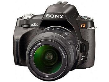 Sony Alpha DSLR-A230 DSLR Camera Kit with Sony 18-55mm Lens