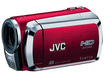 JVC Everio GZ-HM200 HD Camcorder PAL - Red