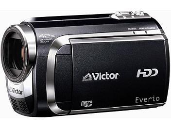 JVC Everio GZ-MG880 SD Camcorder PAL - Black