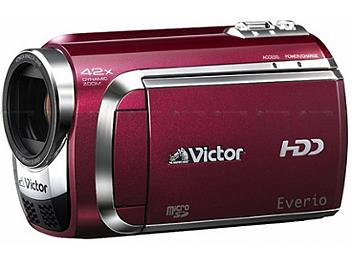 JVC Everio GZ-MG840 SD Camcorder PAL - Red
