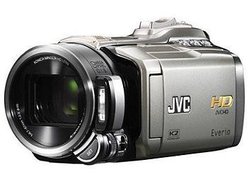 JVC Everio GZ-HM400 HD Camcorder PAL - Silver