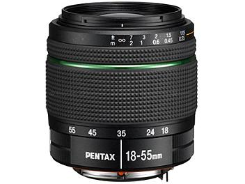 Pentax SMCP-DA 18-55mm F3.5-5.6 AL WR Lens