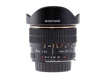 Samyang 8mm F3.5 Fisheye Lens - Nikon Mount