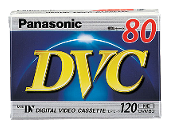 Panasonic AY-DVM80FF mini-DV Cassette (pack 200 pcs)
