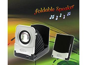 CoolGear Portable Foldable Speaker (pack 5 pcs)