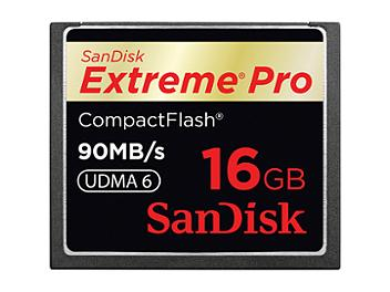 SanDisk 16GB ExtremePro CompactFlash Card 90MB/s (pack 10 pcs)