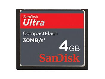 SanDisk 4GB Ultra CompactFlash Card 30MB/s (pack 100 pcs)