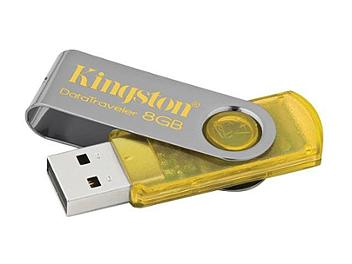Kingston 8GB DataTraveler 101 USB Flash Drive - Yellow (pack 2 pcs)